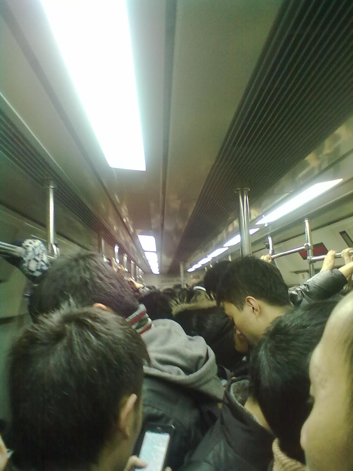 🚇地铁坐不动了!